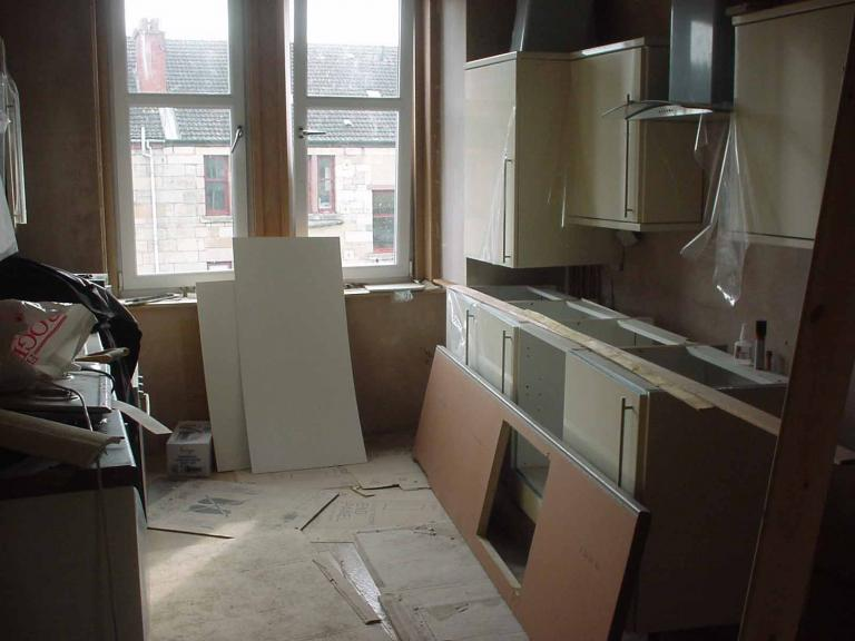 Renovation Of Tenement Flat In Glasgow